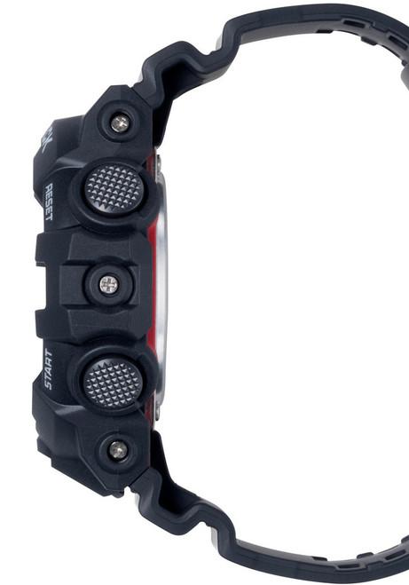 G-Shock GA-700 Anadigi Black (GA-700-1A) side