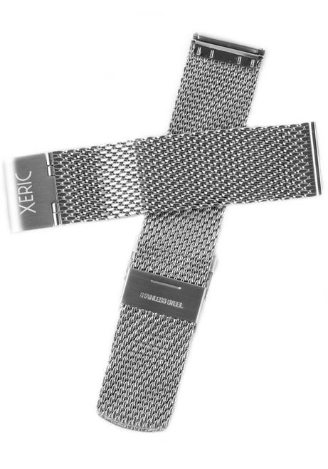 Xeric 24mm Silver Mesh Strap