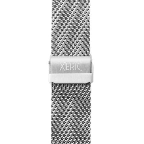 Xeric 24mm Silver Mesh Strap clasp