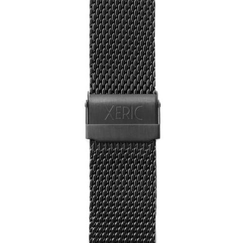 Xeric 24mm Black PVD Mesh Strap (XRC-MESH-24-BKBK) clasp