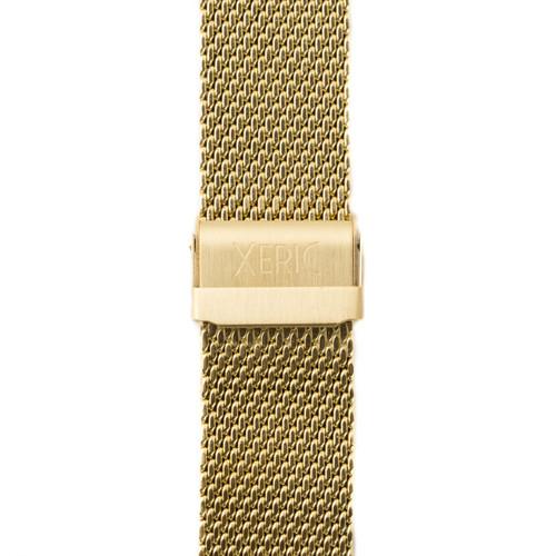 Xeric 24mm Gold PVD Mesh Strap (XRC-MESH-24-GDGD) clasp