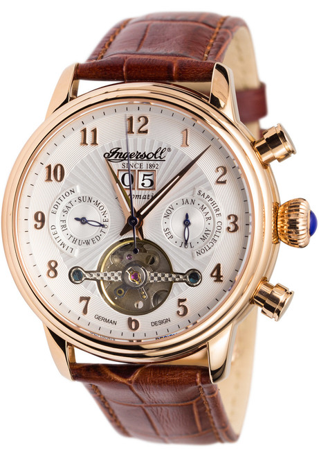 Ingersoll IN1510RWH Coffin Automatic Brown (IN1510RWH)