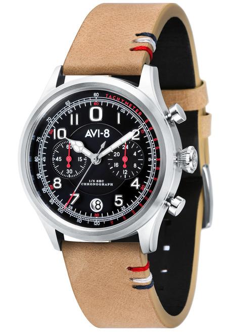 AVI-8 Flyboy Lafayette AV-4054-02 Tan Black (AV-4054-02)