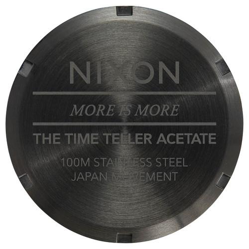Nixon Time Teller Acetate Multi Black (A3272482)