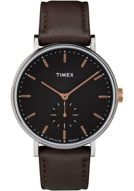 Timex Fairfield Sub Second Black (TW2R38100VQ)