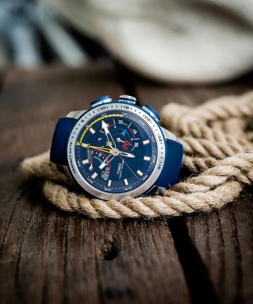Timex Intelligent Quartz Yacht Racer Blue (TW2P73900ZA)