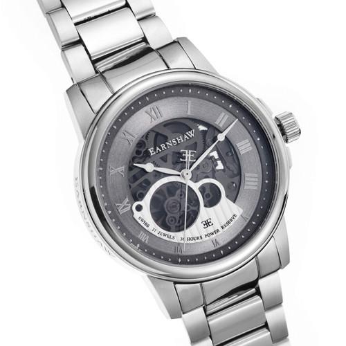 Thomas Earnshaw Beagle Silver Stainless Steel Grey (ES-0029-11)
