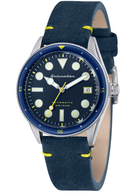 Spinnaker Cahill Midsize Automatic Silver Blue (SP-5042-02)