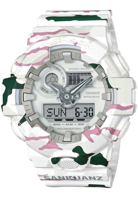 G-Shock Sankuanz Collab White Green Limited Edition GA700SKZ-7A (GA700SKZ-7A)