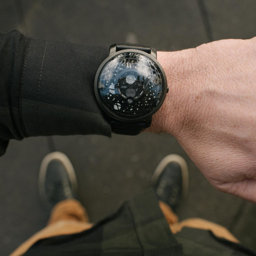 Xeric Trappist-1 Moonphase Black Hole (TMP-3015)