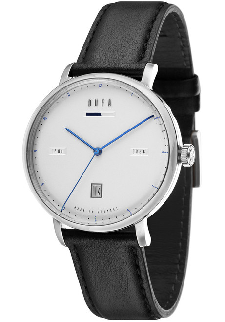 DuFa Aalto Automatic Power Reserve Silver Black (DF-9024-01) ...