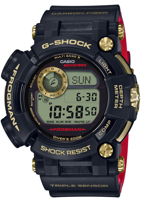 G-Shock Frogman Gold Tornado 35th Anniversary Limited Edition (GWFD1035B-1)