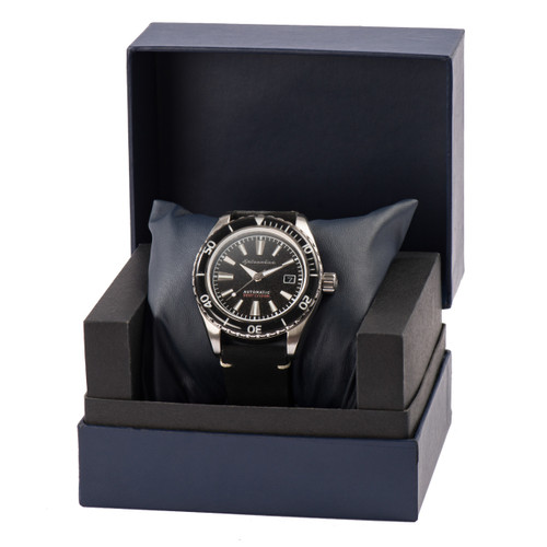 Spinnaker Fleuss Automatic Silver Black (SP-5056-01)