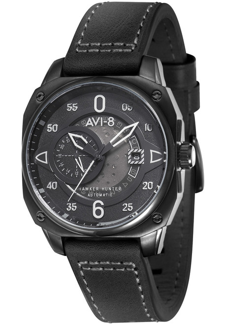 AVI-8 Hawker Hunter Automatic All Black (AV-4043-04)