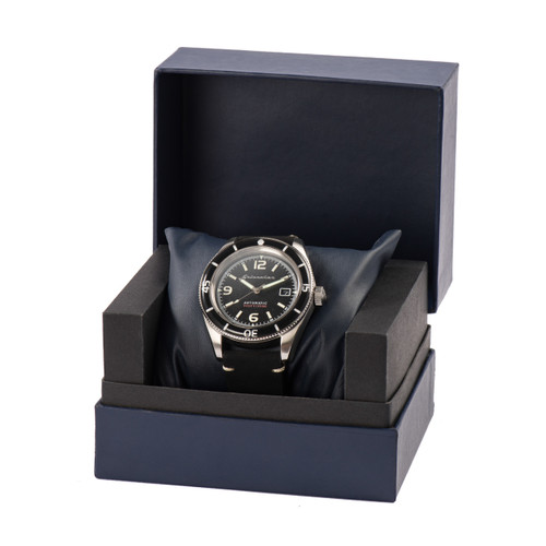 Spinnaker FLEUSS Automatic Black Silver (SP-5055-02)