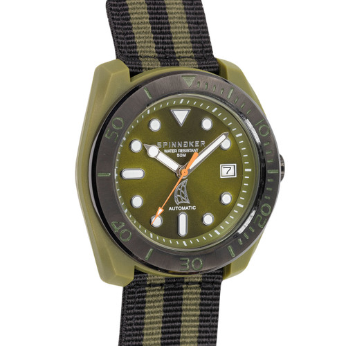 Spinnaker Marina Automatic Green Black (SP-5054-07)
