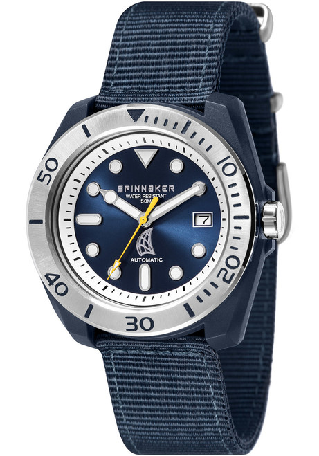 Spinnaker Marina Automatic Blue Silver (SP-5054-01)