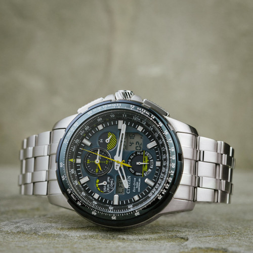 steel s on mens dress deal silver watches men angels spectacular watch drive eco skyhawk stainless blue shop citizen