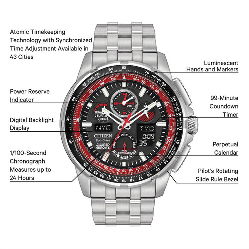 radio has is controlled citizen item by rt discontinued atomic and wrist the watches of a htm been sorry flight t this out chrono manufacturer skyhawk watch