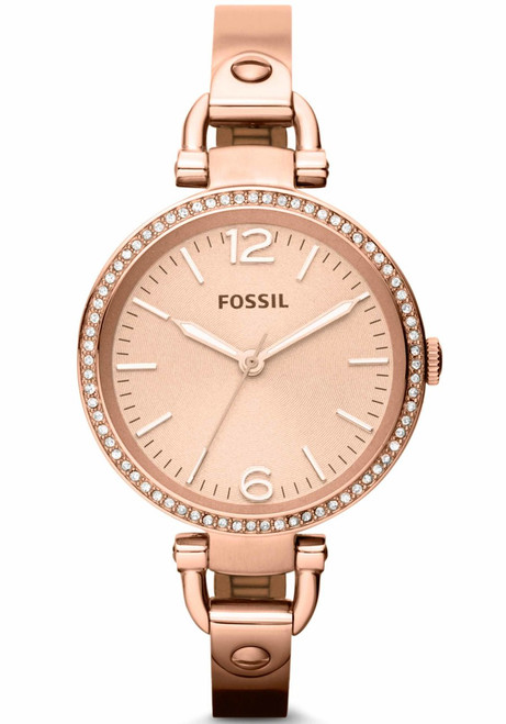 Fossil Georgia Rose Gold Stainless Steel (ES3226)