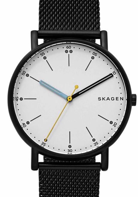 Skagen Signatur Black Steel Mesh (SKW6376)
