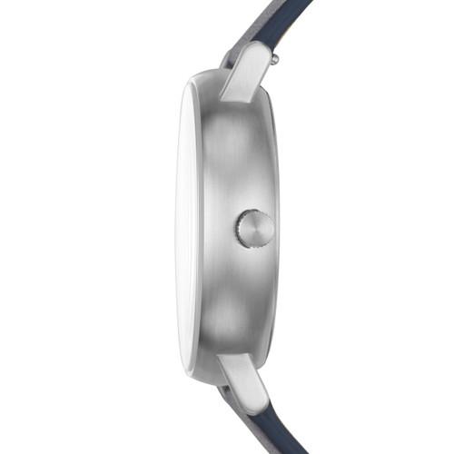 Skagen SKW6451 Signatur Solar Silver Blue Leather