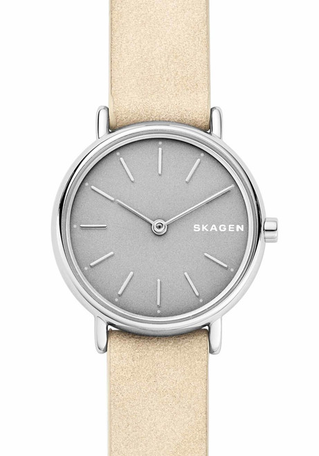 Skagen SKW2696 Signatur Slim Nude Nubuck Leather