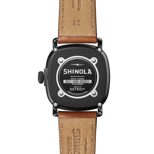 Shinola Guardian 41mm Black Tan (S0120089896)