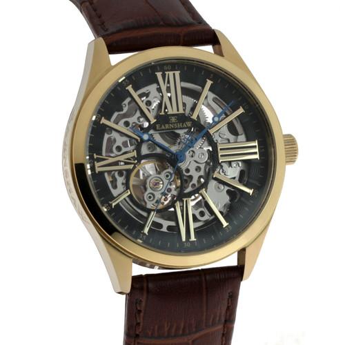 Thomas Earnshaw Armagh Automatic Gold Brown (ES-8037-03)