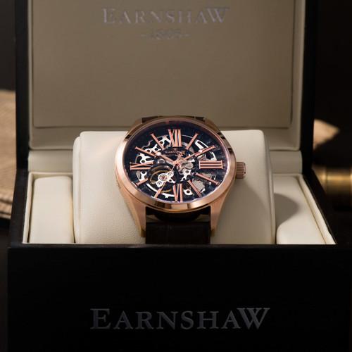 Thomas Earnshaw Armagh Automatic Rose Gold Brown (ES-8037-05)