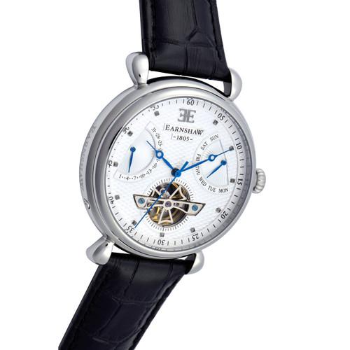 Thomas Earnshaw Grand Calendar Automatic Silver Black (ES-8046-02)