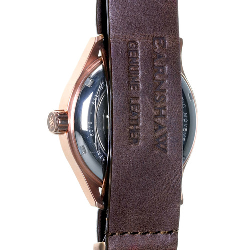 Thomas Earnshaw Beagle Automatic Woolwich Edition Rose Gold Brown (ES-8076-05)