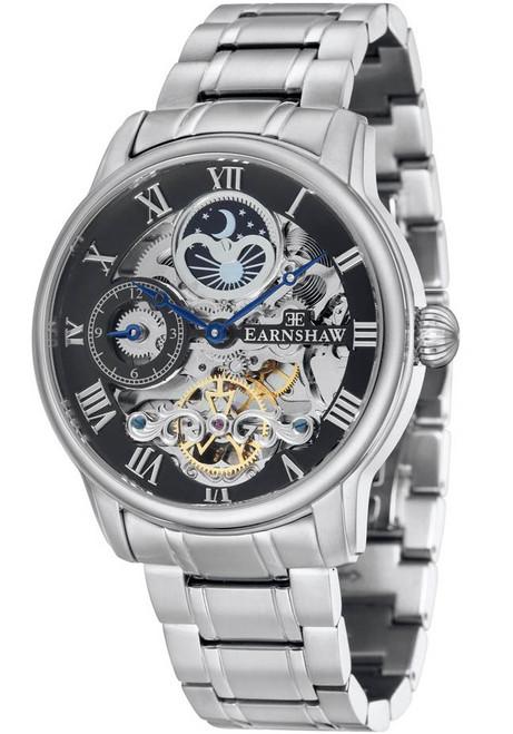 Thomas Earnshaw Longitude Automatic Silver (ES-8006-11)