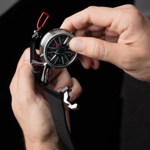 Mazzucato RIM Automatic Black Red (RIM-01-BK186)