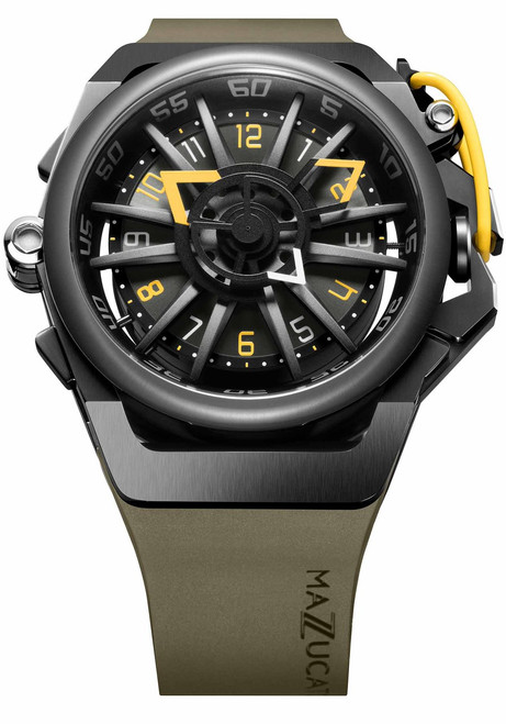Mazzucato RIM Automatic Black Yellow (RIM-04-GN136)