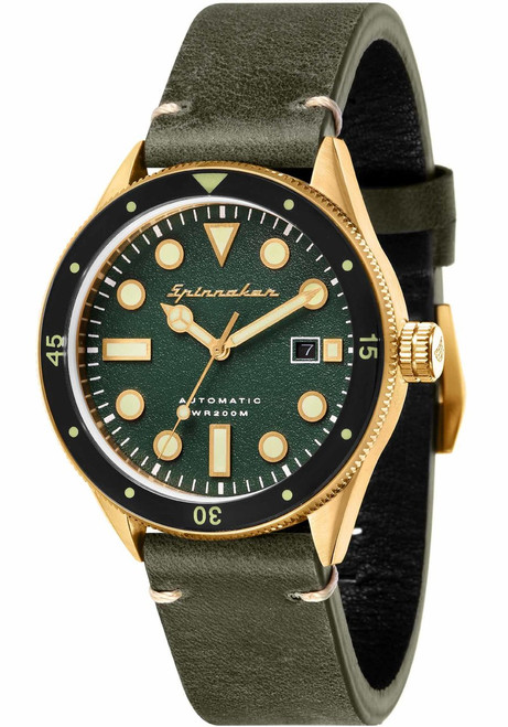 Spinnaker Cahill Automatic Gold Green (SP-5033-05)