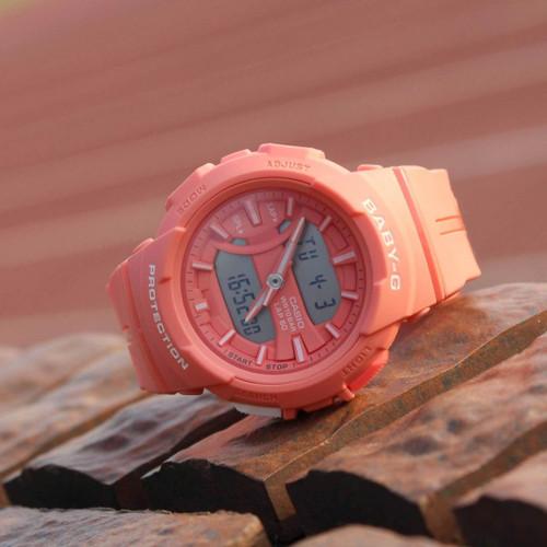 G-Shock Baby-G Urban Runner Coral (BGA-240BC-4A)