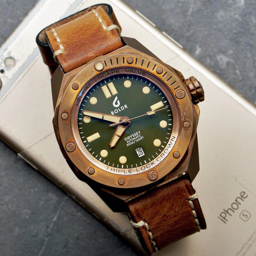 Boldr Odyssey Automatic Bronze Green (0638455380325)