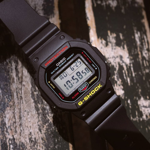 G-Shock DW5600 Black Rasta Edition (DW5600CMB-1)