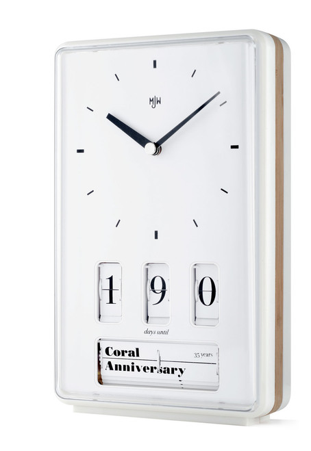 Mr. Jones Wedding Anniversary Countdown Clock (WCC)