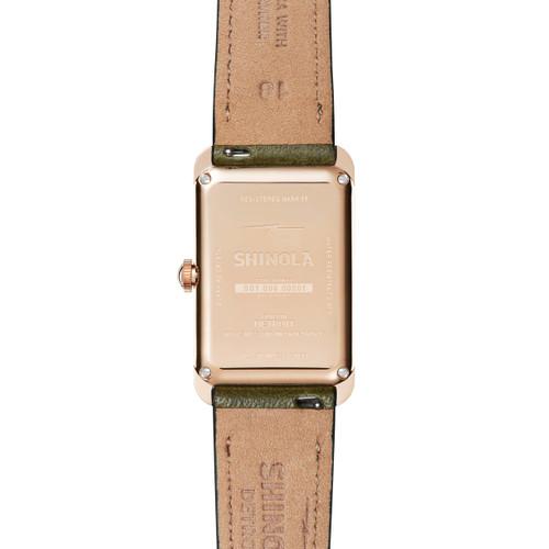 Shinola Muldowney 24mm Spruce (S0120109241)