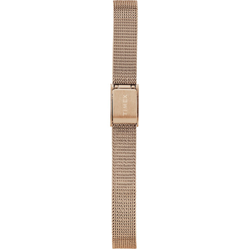 Timex Milano Oval 24MM Rose Gold Mesh (TW2R94300)