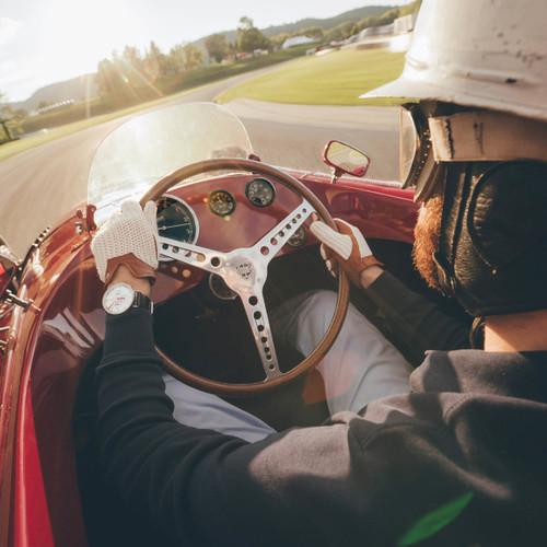 Autodromo Monoposto Automatic Chrono White (BP-002K-S)