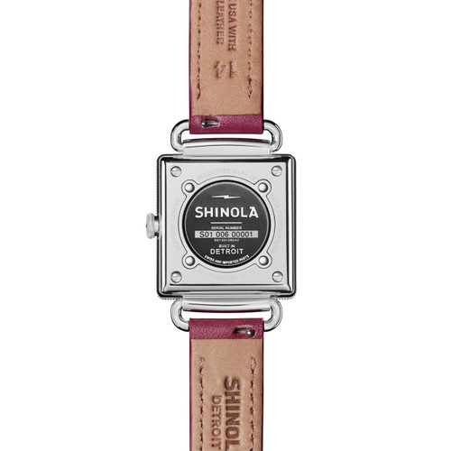 Shinola Cass 28mm Purple Mother of Pearl (S0120109247)