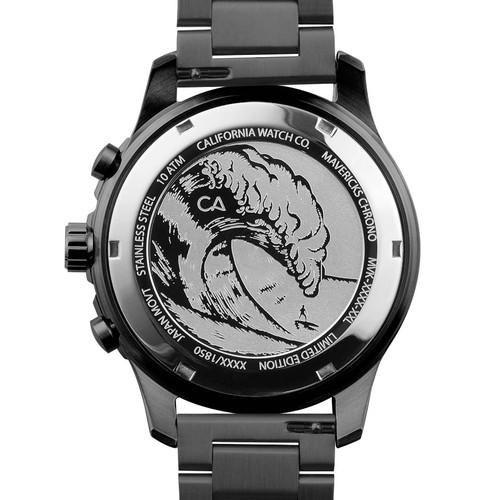 California Watch Co. Mavericks Chrono SS All Gunmetal (MVK-2223-02B)