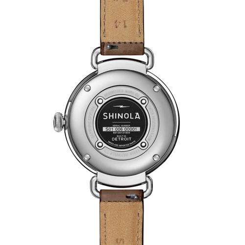 Shinola Canfield 38mm Polished Taupe (S0120121834)