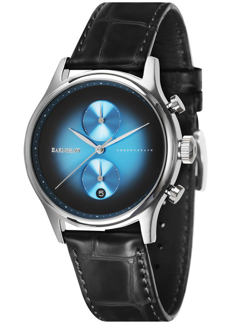 Thomas Earnshaw Bauer Fume Chronograph Blue