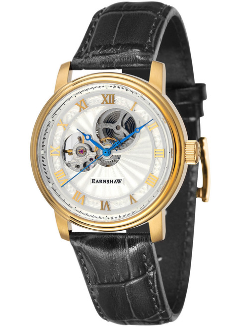 Thomas Earnshaw Westminster Hand Wind Gold Black (ES-8097-02)