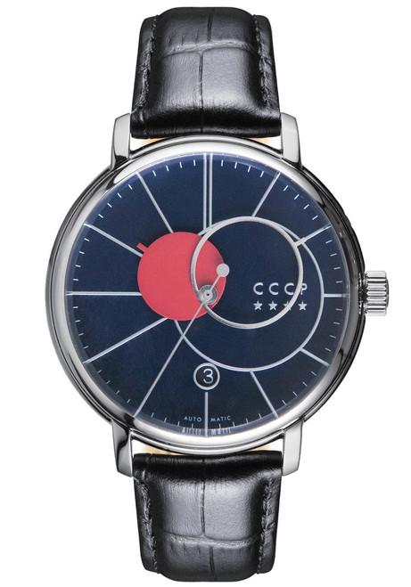 CCCP Friedmann Automatic Silver Black Blue (CP-7044-02)