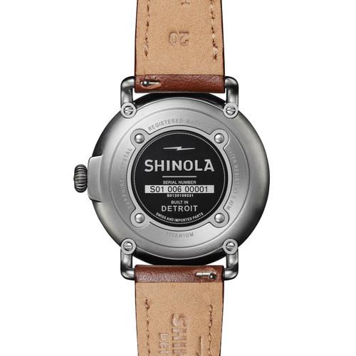 Shinola Runwell 41mm Titanium Gunmetal (S0120109231)